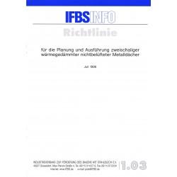 IFBS 1.03 Richtlinie...