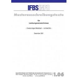 IFBS 1.06 Zweischaliges...