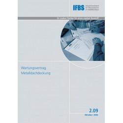 IFBS 2.09 Wartungsvertrag...