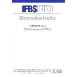 IFBS 6.04 Prüfzeugnis W 90:...