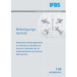 IFBS 7.03 Zulassung für...